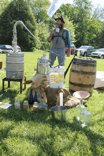 Moonshine Exhibit